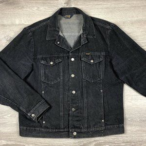 Vintage Wrangler Metal Button Denim Jean Jacket